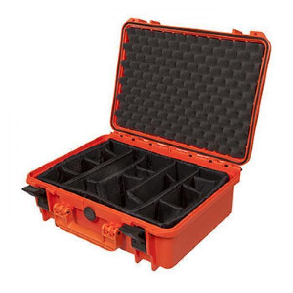 MAX430CAM-O - Equipment Case Case Equipment wasserdicht, schwarz, inklusiver variabler Taschen/ 0546d4