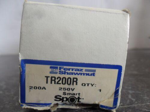 New Ferraz Shawmut Smart Spot TR200R Amp Fuse FRN-R-200 Class RK5 250V NIB