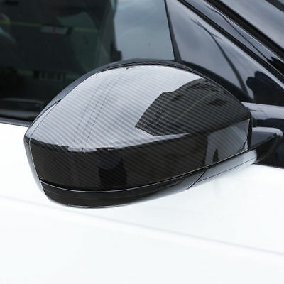 For Jaguar E-Pace 2018 2019 Real Carbon Fiber Side Air Vent Outlet Cover Trim