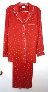 e1de36a847 NWT Soma Cool Nights Long Sleeve Pajama Top   Pants Pajamas Set ...