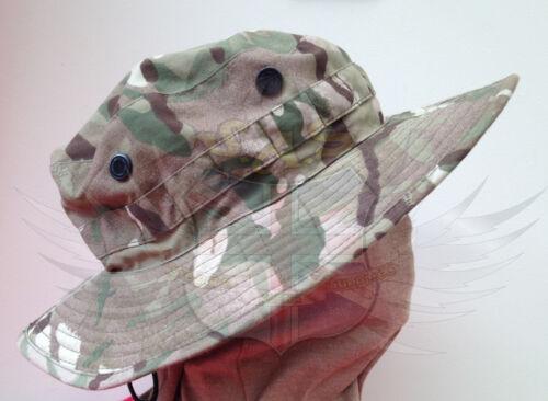 UK BRITISH ARMY SURPLUS ISSUE MTP BUSH HAT,BRIMMED CAMO BOONIE HAT,G1 /& G2