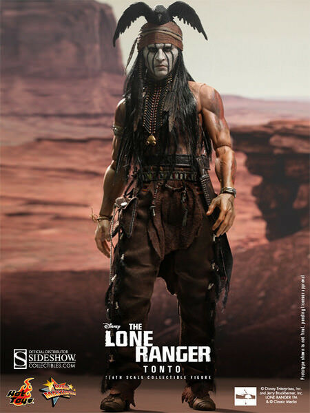 12  Tonto - The Lone Ranger Sixth Scale Figure Item 902083 Hot Toys Sideshow
