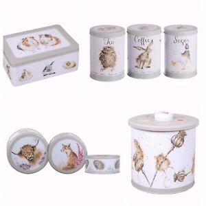 Wrendale Cake Storage Tins Hare
