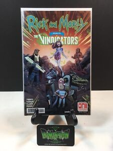 ONI PRESS RICK MORTY VINDICATORS 1 FIRST 1ST PICKLE RICK C2E2 VARIANT COVER 300