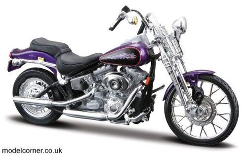 Maisto Harley-Davidson 2001 FXSTS Springer Softail 1:18 Scale Model Motorcycle