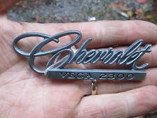 1971 1972 Chevrolet Vega 2300 Deck Lid Emblem #4 9870383