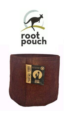 2 Root Pouch marron Géotextile Smart grow Pot déco jardin fleurs container 18L