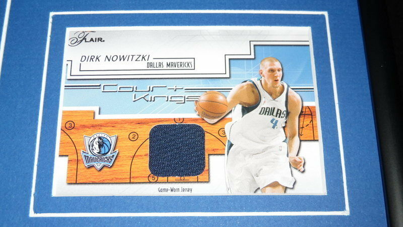 Dirk Nowitzki Encadré 12x18 Match D'Occasion Maillot & Photos Cadre Photos & Mavericks e5039f