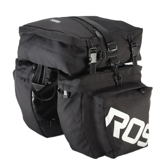 ROSWHEEL Waterproof Cycling Bag 8L Bike Rear Rack Bag Bicycle Shelf Utility O5T8