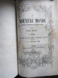 Le-Nouveau-Monde-1849-1851-Journal-de-Louis-Blanc-presque-complet-17-n-sur-18