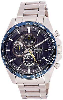 SEIKO Men's Chronograph Motor Sports 100m Blue Dial Watch SSB321P1  4954628225030 | eBay