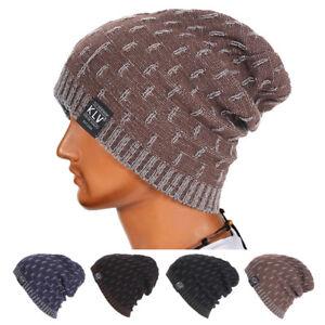 a27b7b01009 Unisex Men Women Knit Baggy Beanie Winter Hat Ski Slouchy Chic ...