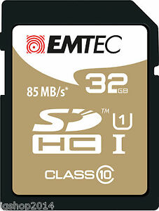 SDHC-32GB-Ultra-Classe-10-UHS-I-SD-85-MB-S-Tres-Haute-Definition-Video-Carte