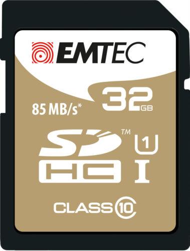 MEMORY CARD 32 GB CLASS 10 GOLD MEMORY 85 MB/S FULL HD CANON NIKON