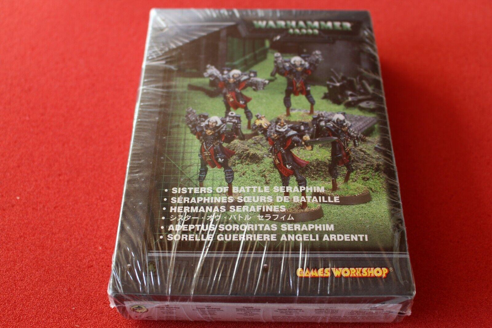 Games Workshop Warhammer 40k Sisters of Battle Sisters  Seraphim Squad Metal OOP  vente avec grande remise