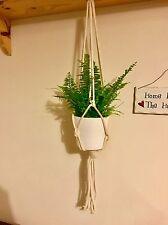 New Handmade rope plant hanger holder vintage 70s style. Ideal Gift/Present