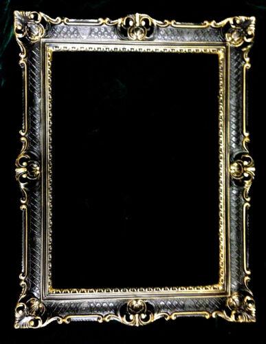 Cadre photo noir-doré cadre photo baroque antique mariage Cadre 90x70 apparat