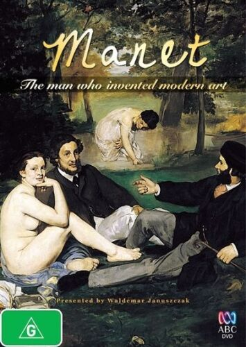 1 of 1 - Manet - The Man Who Invented Modern Art (DVD, 2012) (D170)