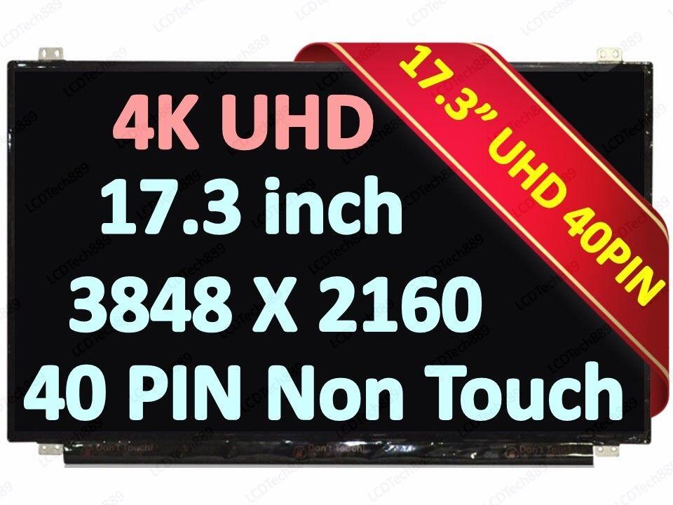 17.3 UHD LCD Screen Display B173ZAN01.1 B173ZAN01.0 for Clevo P775DM2 P870DM2