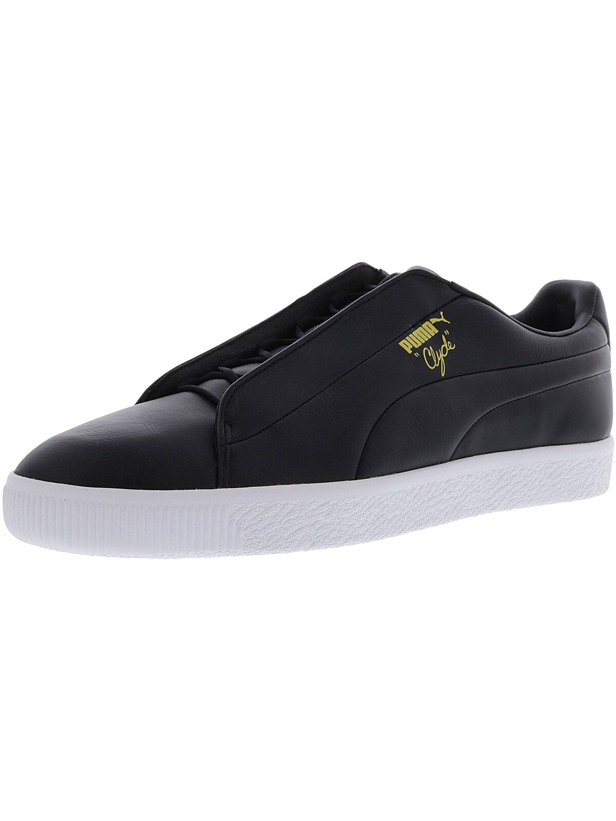 Puma Men's Clyde Fashion Leather Ankle-High Sneaker