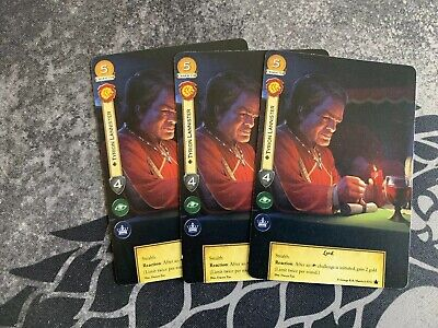 White Cloaks A Game Of Thrones Alt Art Promo 2nd Edition LCG