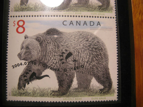 Canada 2005 Limited Edition Stamp /& Coin Set The Great Grizzly.