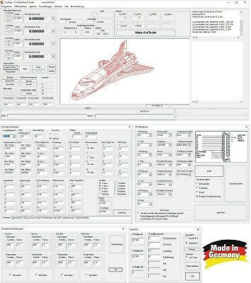 Ausdauernd Lete Cnceasy, Cnc Schrittmotor Steuerung Software ( Gravier Maschine Laser ) Attraktive Designs;