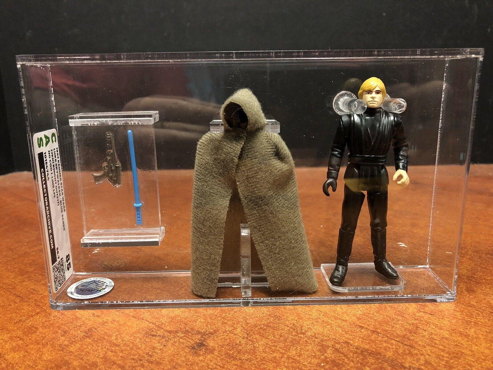 1983 Estrella Wars Luke Skywalker Azul Sable Jedi Knight Disfraz Cas 85 EMF3851