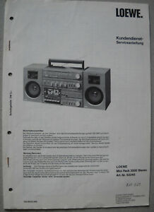 LOEWE-OPTA-Mini-Pack-3000-Stereo-Service-Manual