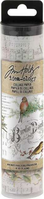 Idea-Ology Collage Paper 6yds Aviary 040861937060