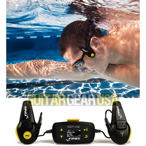 FINIS NEPTUNE underwater MP3 PLAYER - 4 GB / 1000 songs - V2 (released 03/2015)
