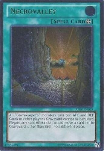 *** NECROVALLEY *** ULTIMATE RARE (NM) CONDITION AP04-EN003 YUGIOH!