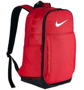 b61d78e4b27e Image is loading Nike-Brasilia-Extra-Large-University-Red-Black-Backpack-