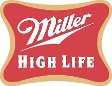 """Miller High Life Drink Bumper Sticker Car Truck Window  Decal 4pack 2.5"""""""