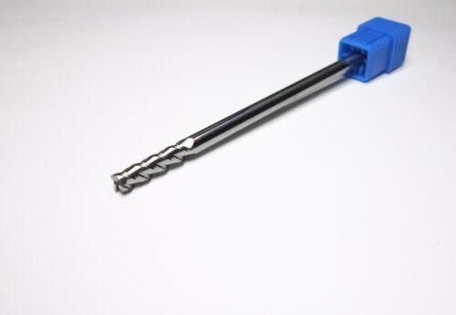 4mm HRC45 3 flute length 100mm Carbide End Mill milling cutter CNC for aluminum