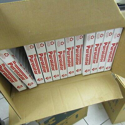 CASE OF 12 12x12x1 AIR FURNACE FILTER HVAC FILTERS NEW IN BOX PUROLATOR 6954085