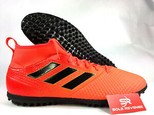 e9fb35275 Details about 11.5 adidas X TANGO 17.3 TURF SHOES Mens Soccer Solar Orange  Black TF BY2203