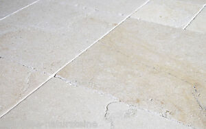 kalkstein salem fliesen r mischer verband x 1 cm natursteinboden wie jura marmor ebay. Black Bedroom Furniture Sets. Home Design Ideas