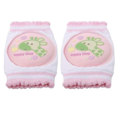 Infant Toddler Baby Safety Crawling Knee Elbow Pads Leg  Anti-Slip Protector Q