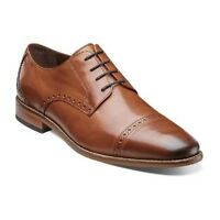 Florsheim Imperial Castellano Cap Ox Men Shoes Leather Saddle Tan 14140-257