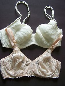 5c7c94833 Image is loading BRAS-Size-38C-Lot-of-Discontinued-LACEY-UNDERWIRE-