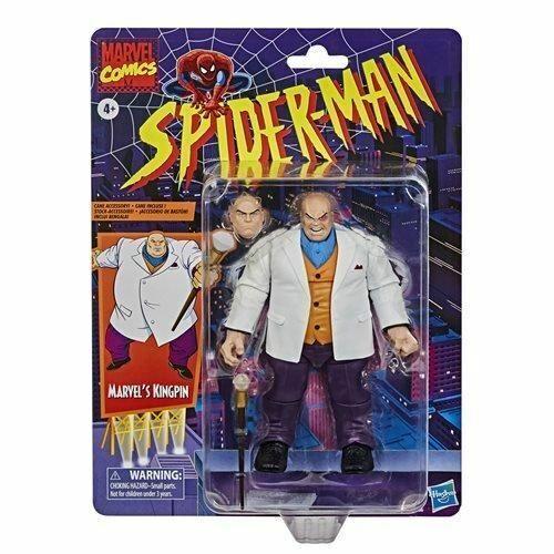 Spider-Man Marvel legends Series 6-inch Kingpin Action Figure-Exclusive