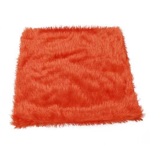 Soft Fur Plush Square Throw Pillow Cases Home Decor Sofa Waist Cushion Cover BF