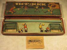 Vintage Antique Original Pre-War Tipp-Kick Board Game Complete W/Box Germany