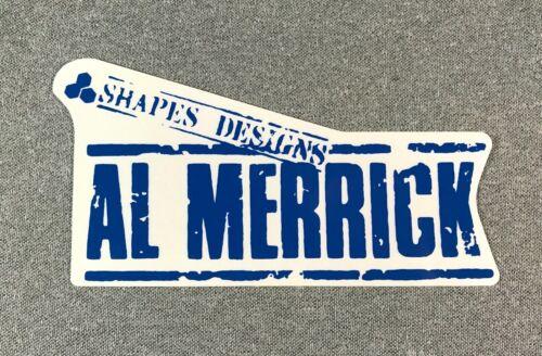 """Channel Islands Surfboards AL MERRICK Sticker 6.5/"""" blue"""