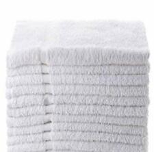 24 new white 16x27 100/% cotton terry hand towels salon//gym//hotel super absorbent