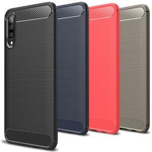 Thin-Housse-Case-pour-Samsung-Galaxy-A50-Coque-Protection-Caoutchouc-Etui-Mat