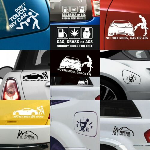 4 Type Funny Sticker Vinyl Decal for Auto Car Bumper Vehicle Window Waterproof