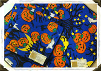 Horchow Catalogue (neiman Marcus) Halloween Place Mats & Napkins Set (4)