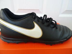 Credencial Anguila Prisión  Nike Tiempo Rio III TF football trainers 819237 010 uk 7 eu 41 us 8 NEW+BOX  | eBay